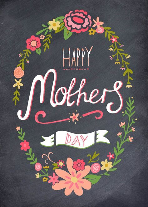 Mothers Day Chalkboard Colour 571x800 Pixeles
