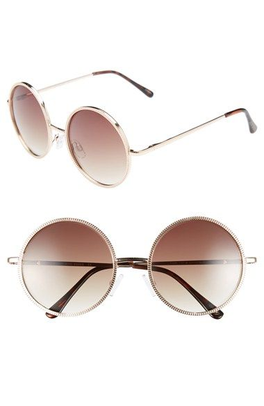 a506b4c6b9 Steve Madden 54mm Round Sunglasses available at  Nordstrom