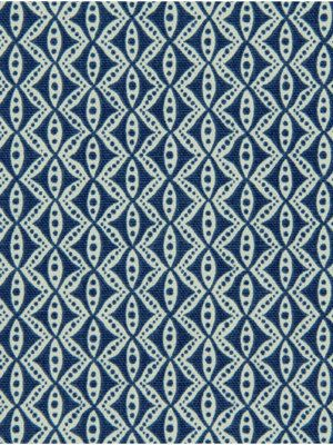 Modern Upholstery Fabric Navy and White Fabric by the Yardd. $24.00, via Etsy.