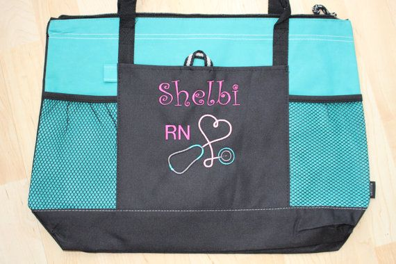 Personalized Nurse Tote Bags Versatile Bag Perfect For