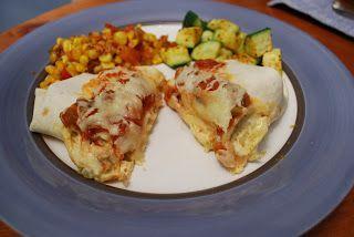 Dies und Das kochen: Shrimps-Enchiladas ohne Grenzen -