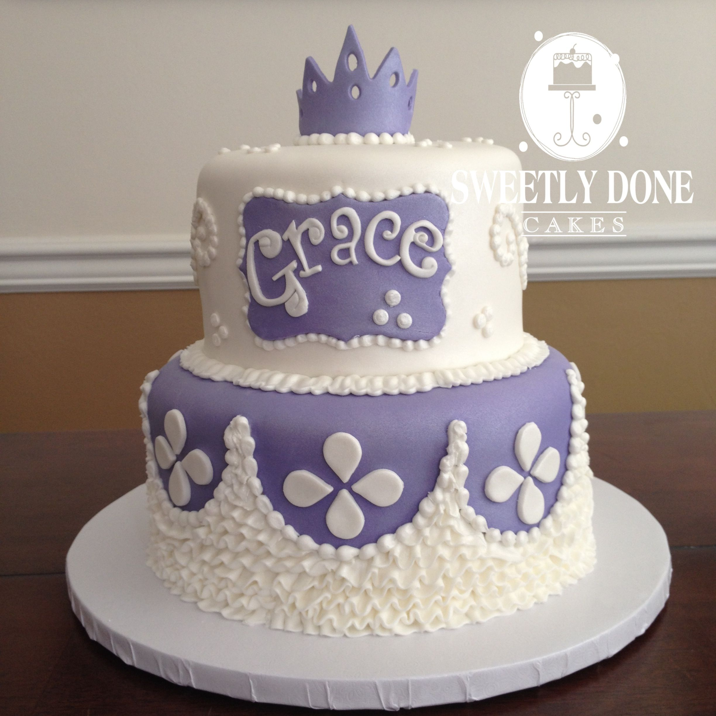 Sofia The First Fondant And Buttercream Cake Sofia The First