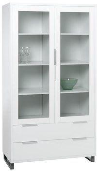 Display Cabinet Stege White High Gloss Jysk Skap In 2019