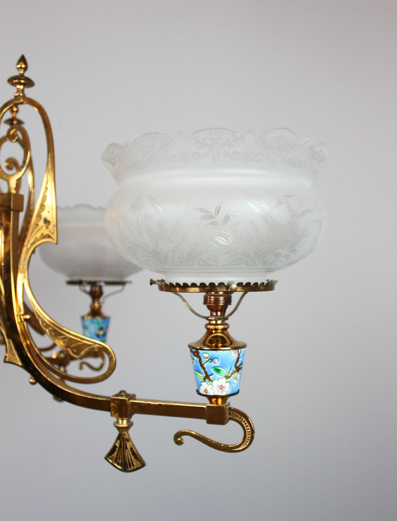 Longwy aesthetic movement gas chandelier 4 light aesthetic longwy aesthetic movement gas chandelier 4 light arubaitofo Images