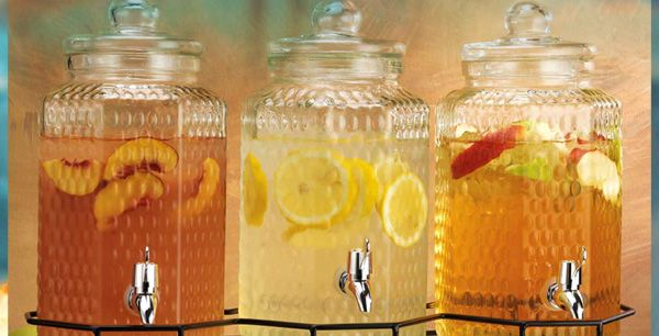 Tuesday Morning - Stay hydrated this summer.  Choose from a wide assortment of beverage dispensers.