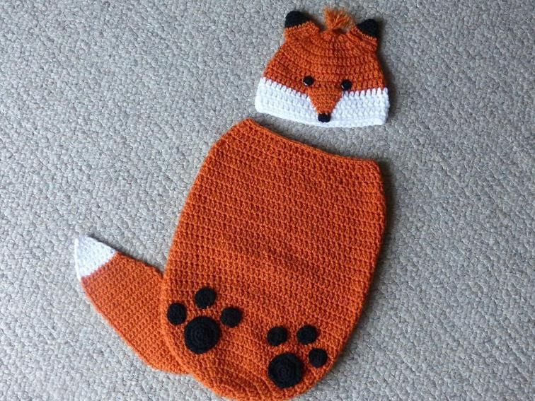 Finley the Fox Cocoon and Hat Set | Pinterest