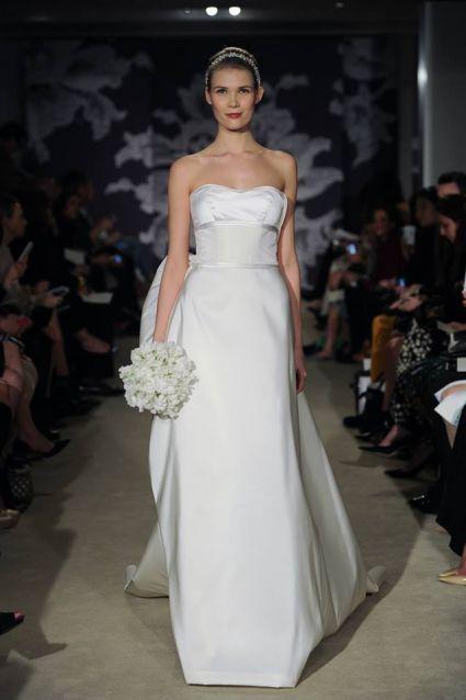 Os mais lindos vestidos de noiva Carolina Herrera 2015 – New York Bridal Week [Foto]