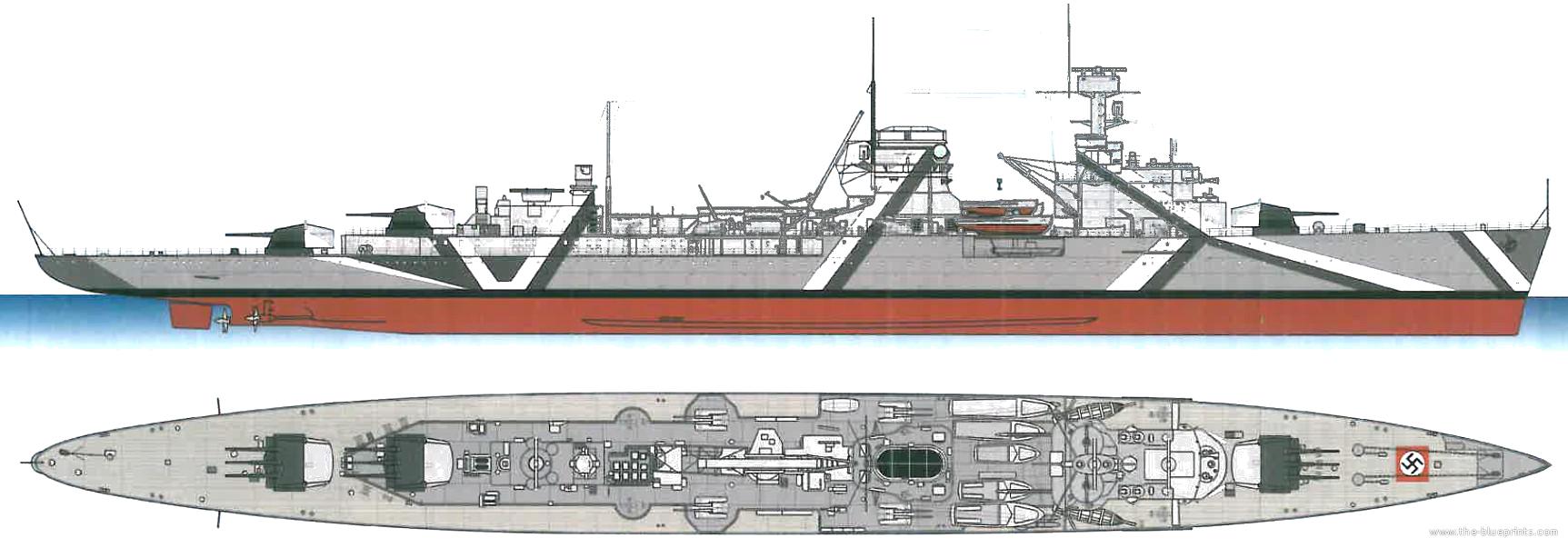 german light cruiser n rnberg kgn. Black Bedroom Furniture Sets. Home Design Ideas