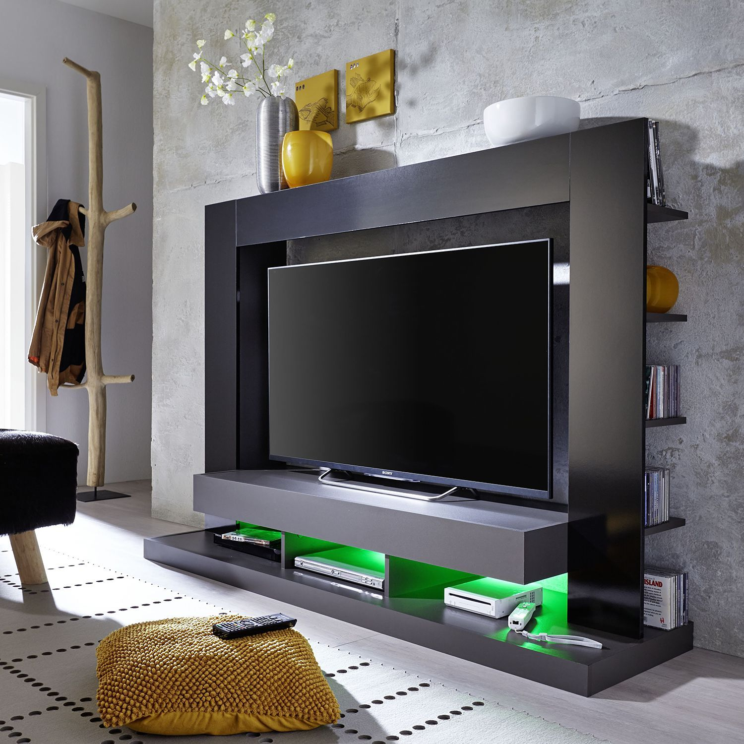 pin von ladendirekt auf tv hifi m bel pinterest tv w nde wohnzimmer tv und tv hifi m bel. Black Bedroom Furniture Sets. Home Design Ideas