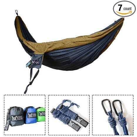 winner outfitters double camping hammock   lightweight nylon portable hammock best parachute double hammock for winner outfitters double camping hammock   lightweight nylon      rh   pinterest