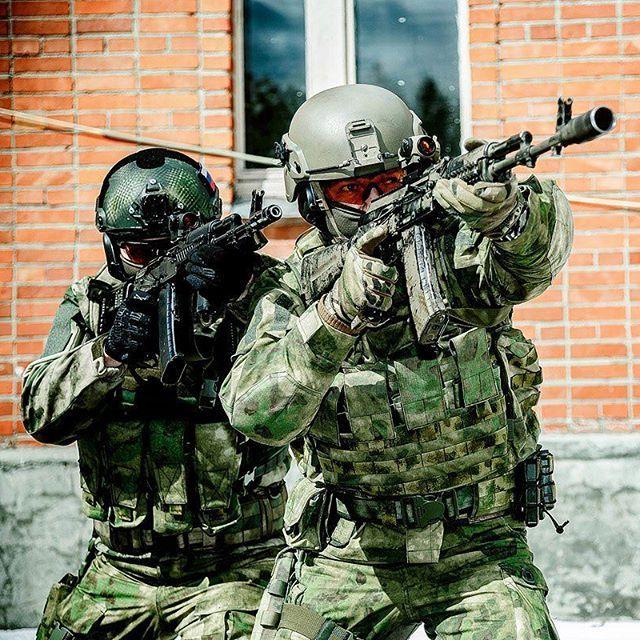 Russian Spetsnaz Photo Russiansoldier001: Spetsnaz Operators During A Promotional Photo Shoot