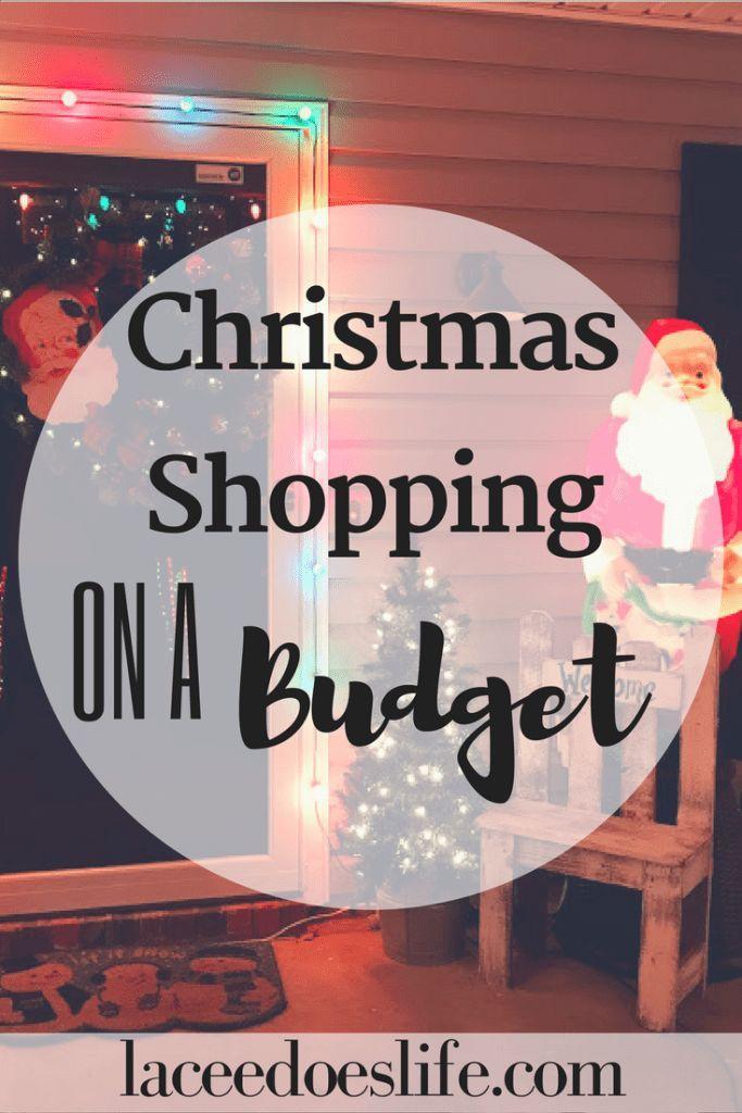 christmas shopping budget