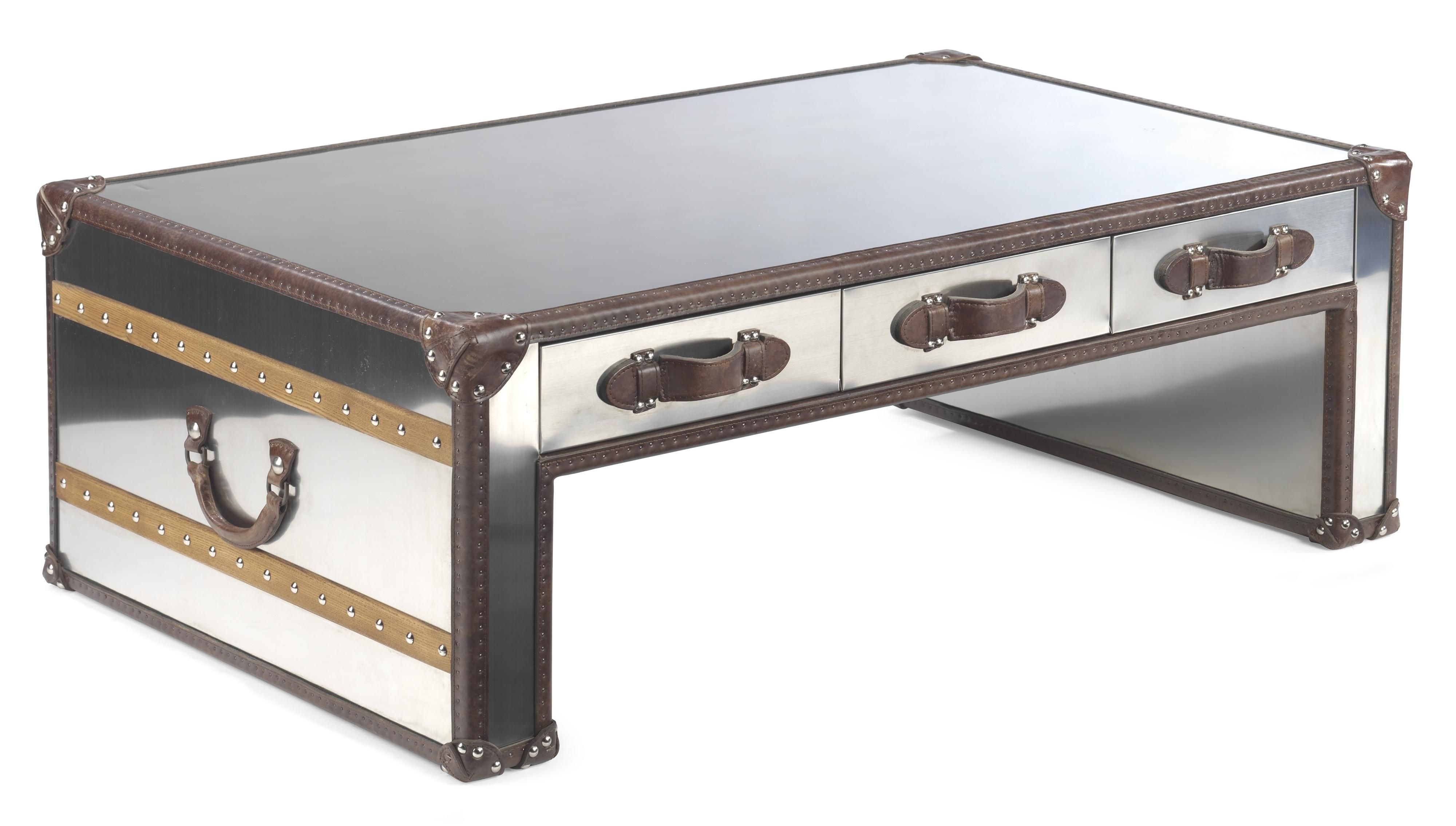 Premier Trunks Rectangle Storage Cocktail Table by Flexsteel