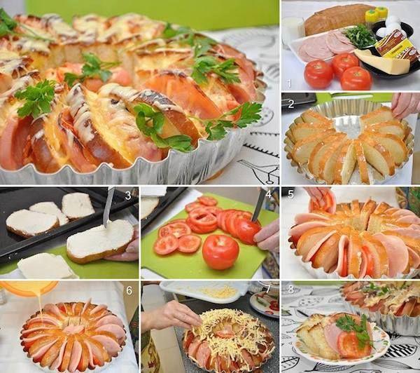 5 recetas con pan de molde Food