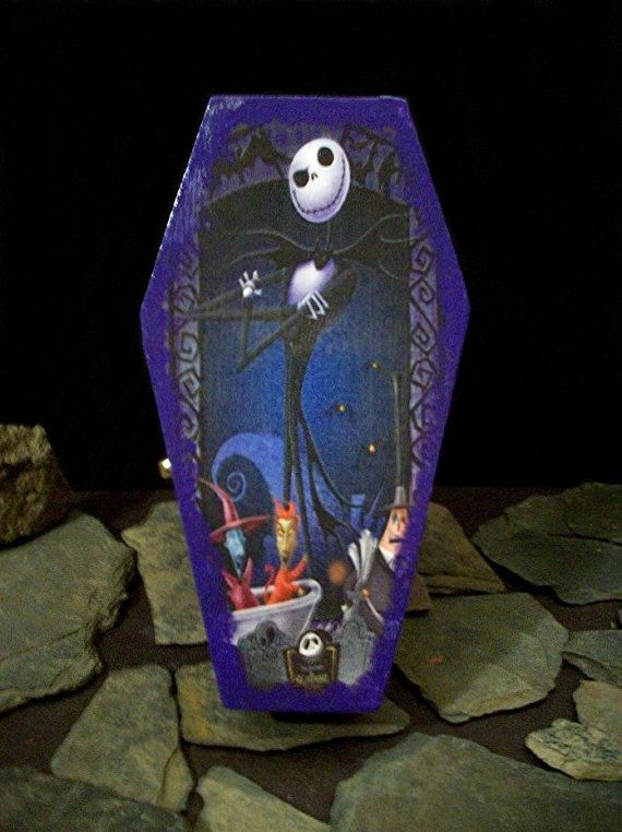 SALE Nightmare Before Christmas Twilight Coffin Jewelry ...