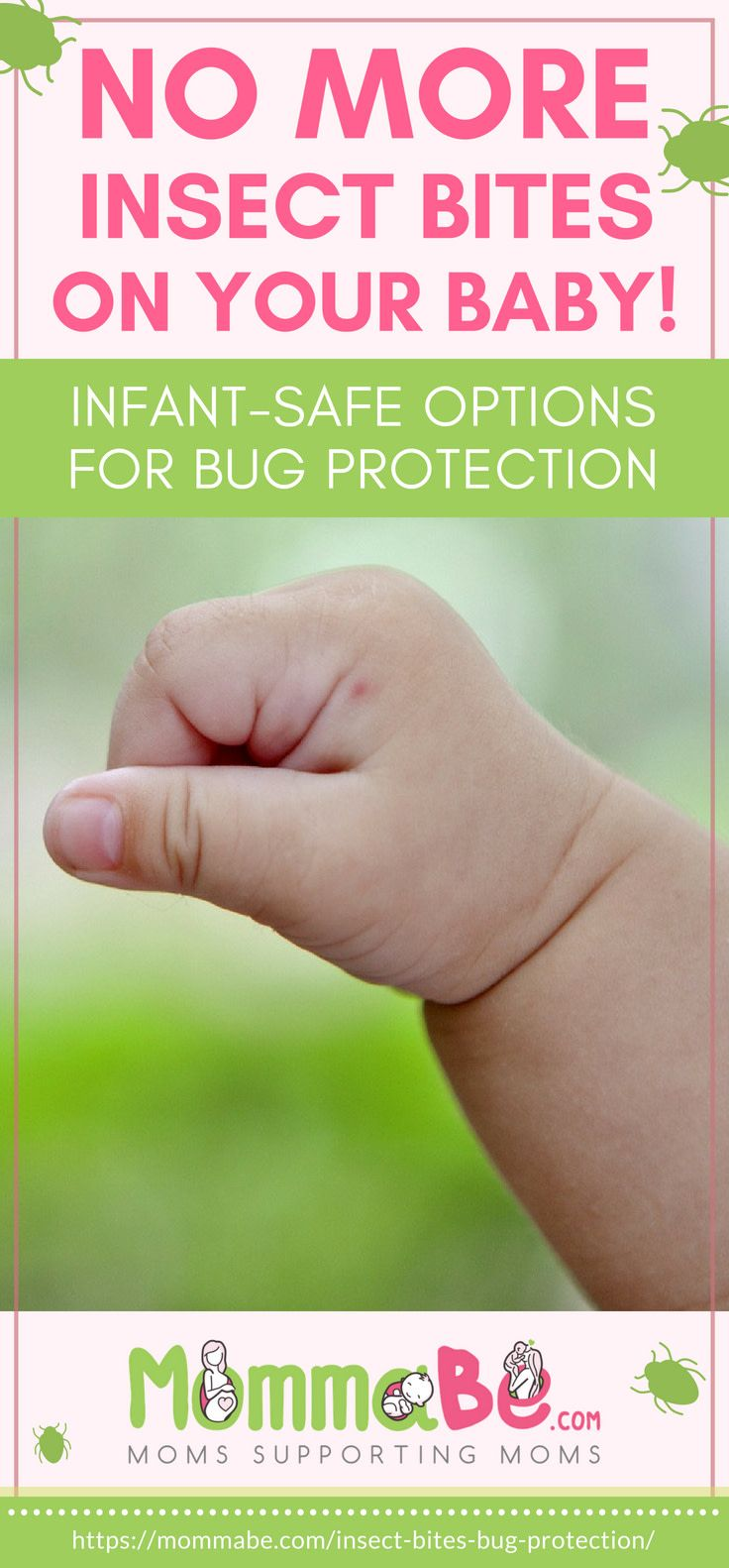 No More Insect Bites! InfantSafe Options For Bug