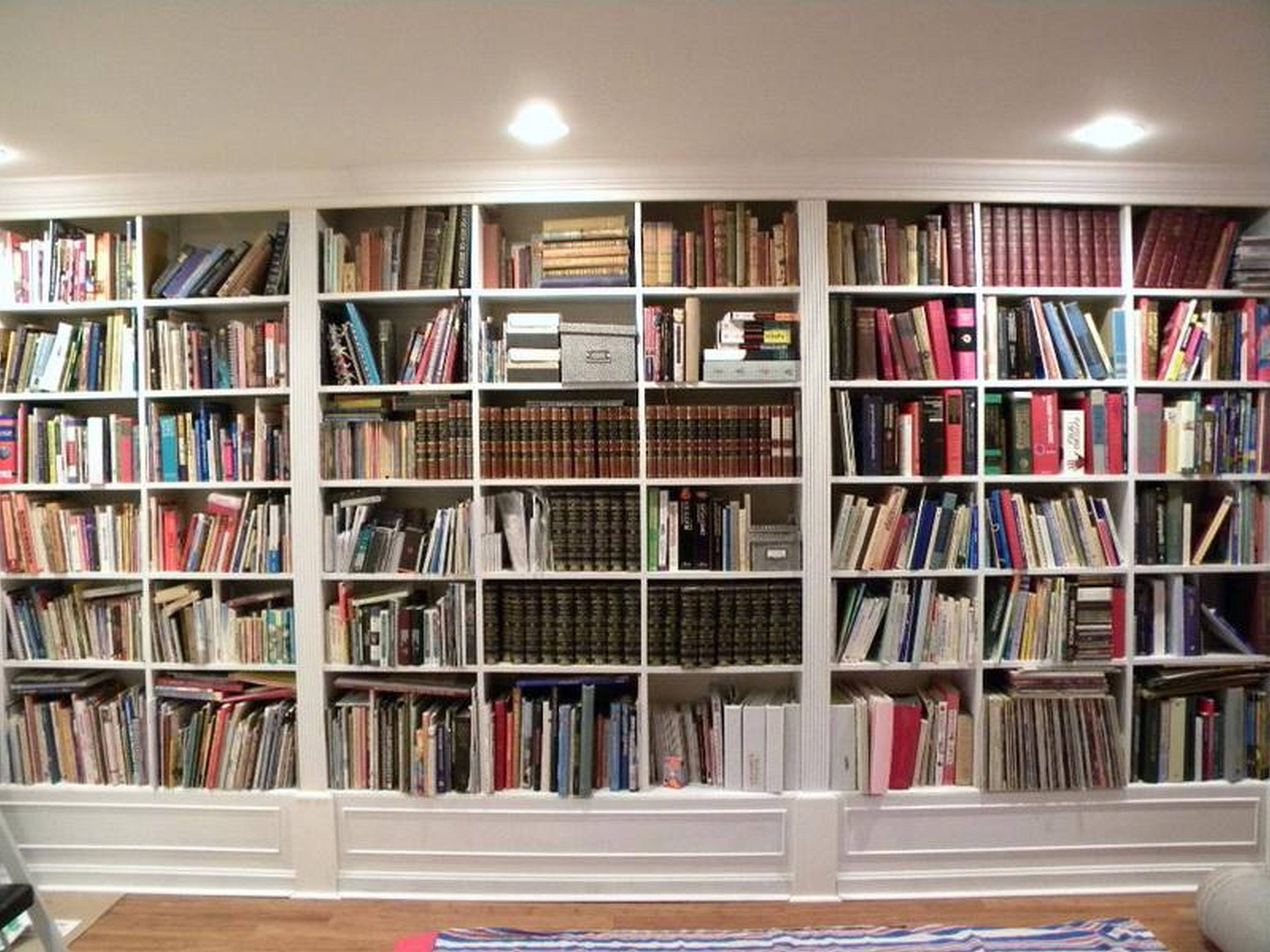 Cute Wall To Bookshelves Creativity Interesting Building Sweet Ings Representation Best Custom Built
