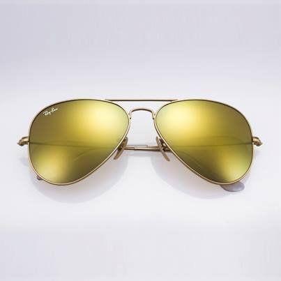 ray ban aviator polarized gold