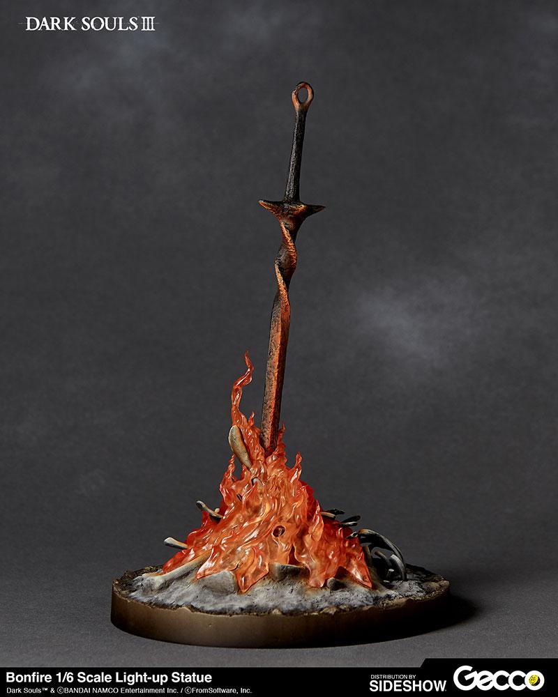 Dark Souls Bonfire Light Up Statue By Gecco Co Sideshow Collectibles Dark Souls Dark Souls Tattoo Bonfire Lit