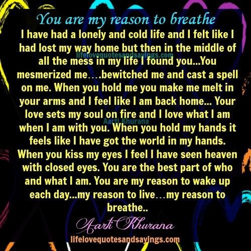 Love Finds You Quote: I Have Had A Lonely And Cold Life And I Felt Like I Had