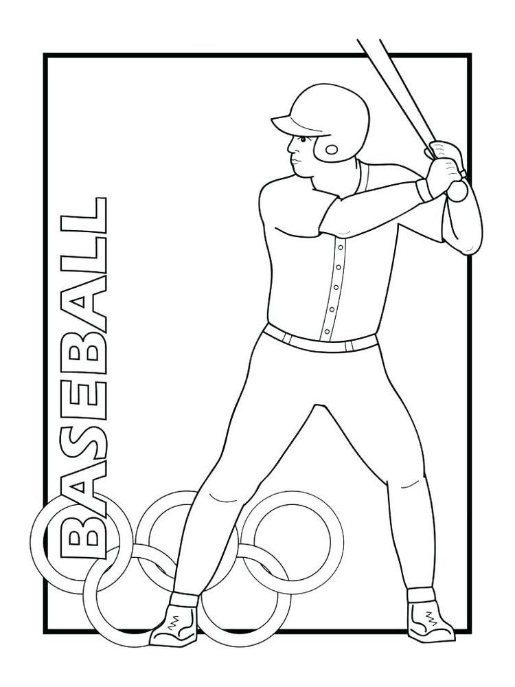 A Baseball Coloring Page Below Is A Collection Of Baseball Coloring Page That You Can Download Fo Baseball Coloring Pages Sports Coloring Pages Coloring Pages
