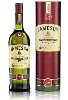 Jameson 12 Year Old Special Reserve Irish Whiskey Jameson Irish Whiskey Irish Whiskey Whiskey