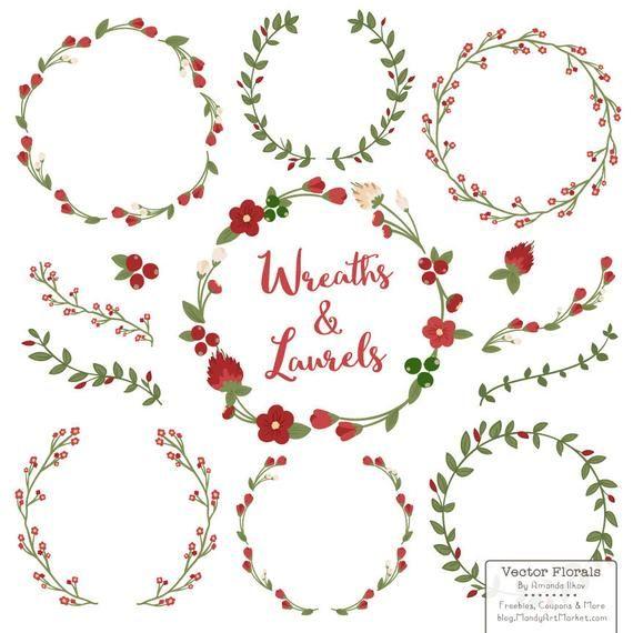 Christmas wreath simple. Premium floral wreaths laurels