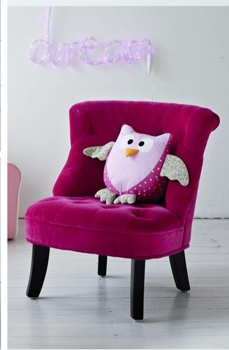 Gorgeous Chair + Sweet Owl U003d Lovely Fun