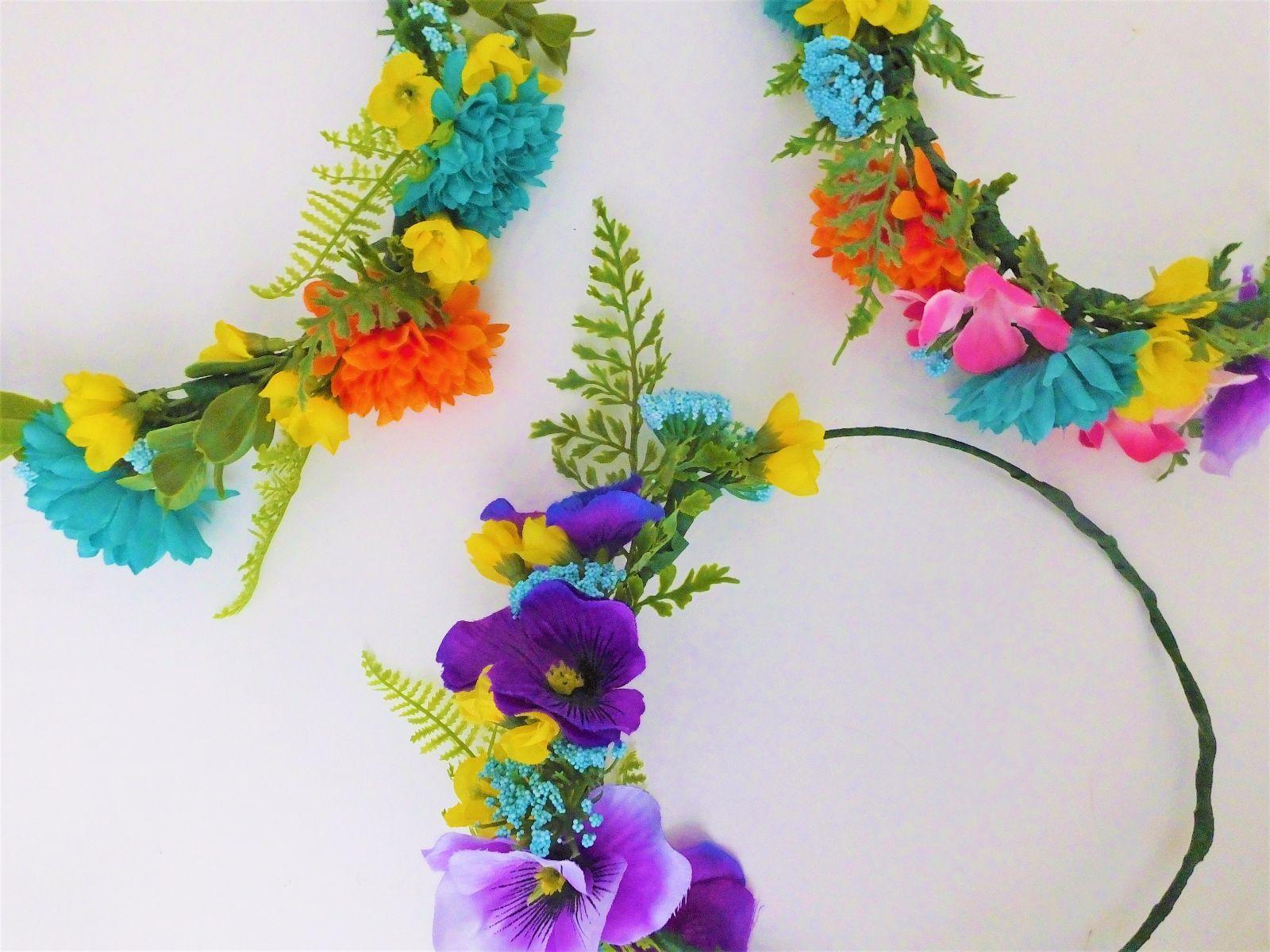 Diy flower crowns diy flower flower crowns and crown diy flower crowns izmirmasajfo Images