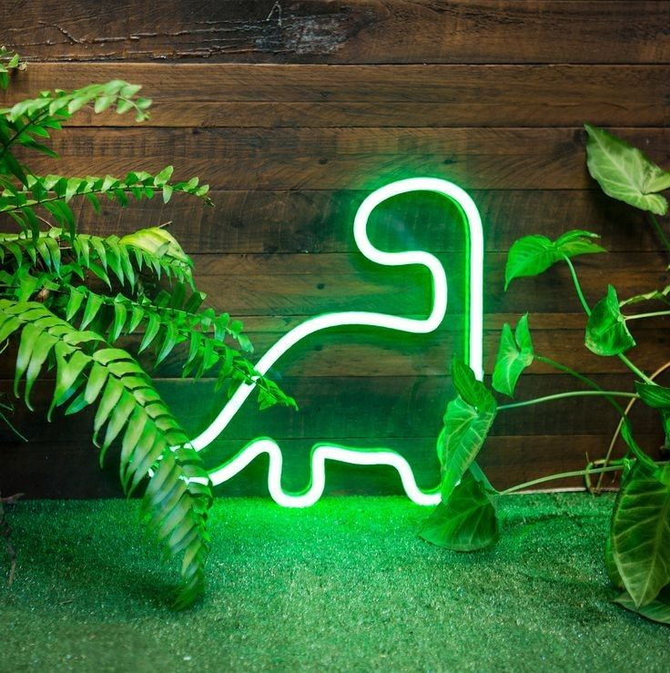 Pin by Esja Fox on 76 Devils Neon signs, Green aesthetic