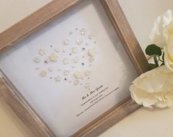 Personalised Wedding Gift Mr And Mrs Present Anniversary