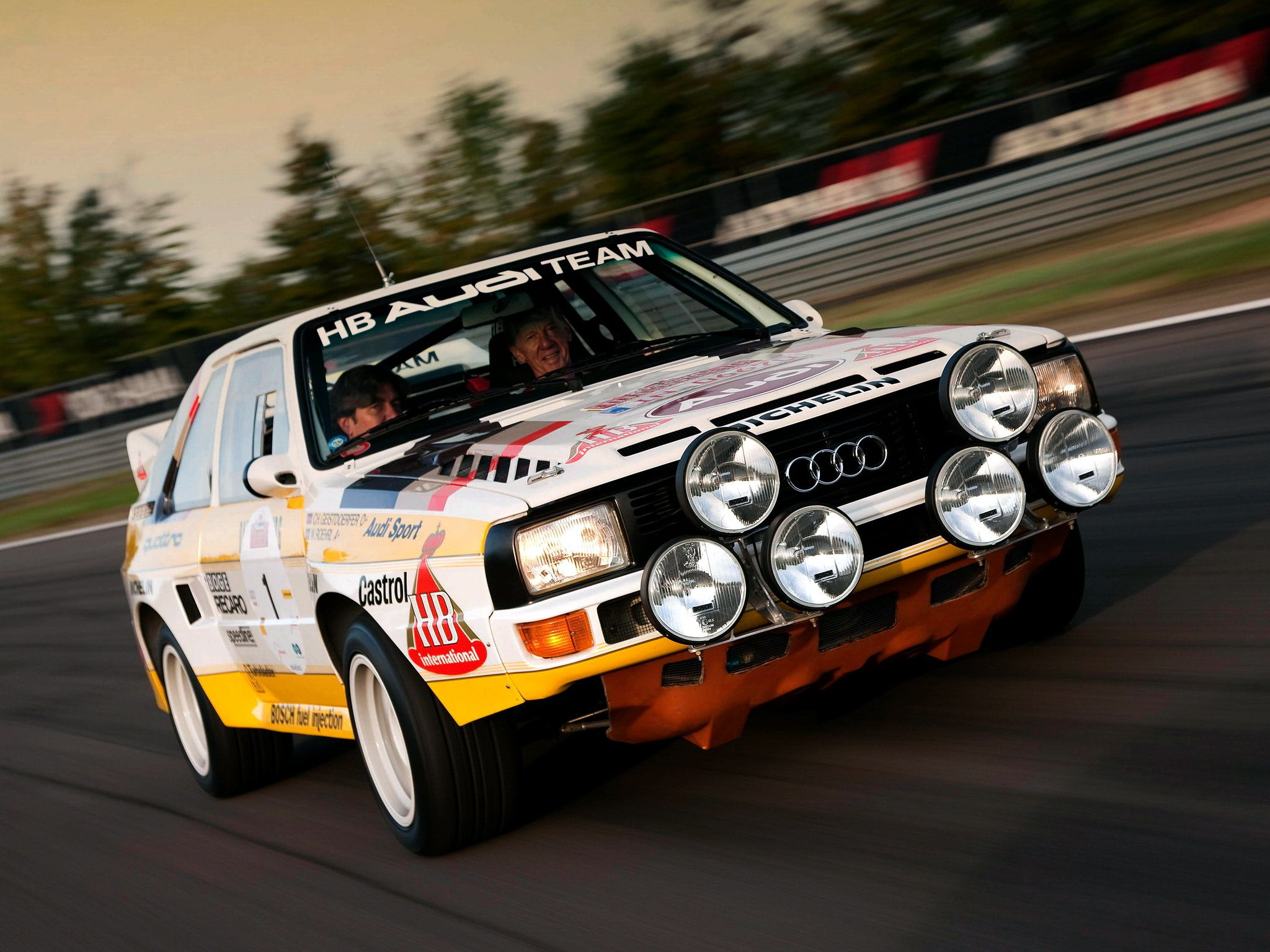 1985 86 audi sport quattro group b rally car cars of all. Black Bedroom Furniture Sets. Home Design Ideas