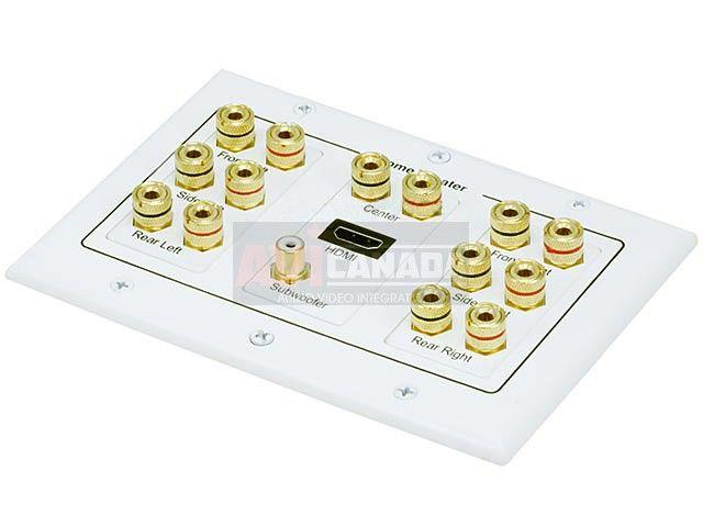 Banana Plug Wall Plate 71 Surround Sound Distribution Banana Plug Wall Plate $2543