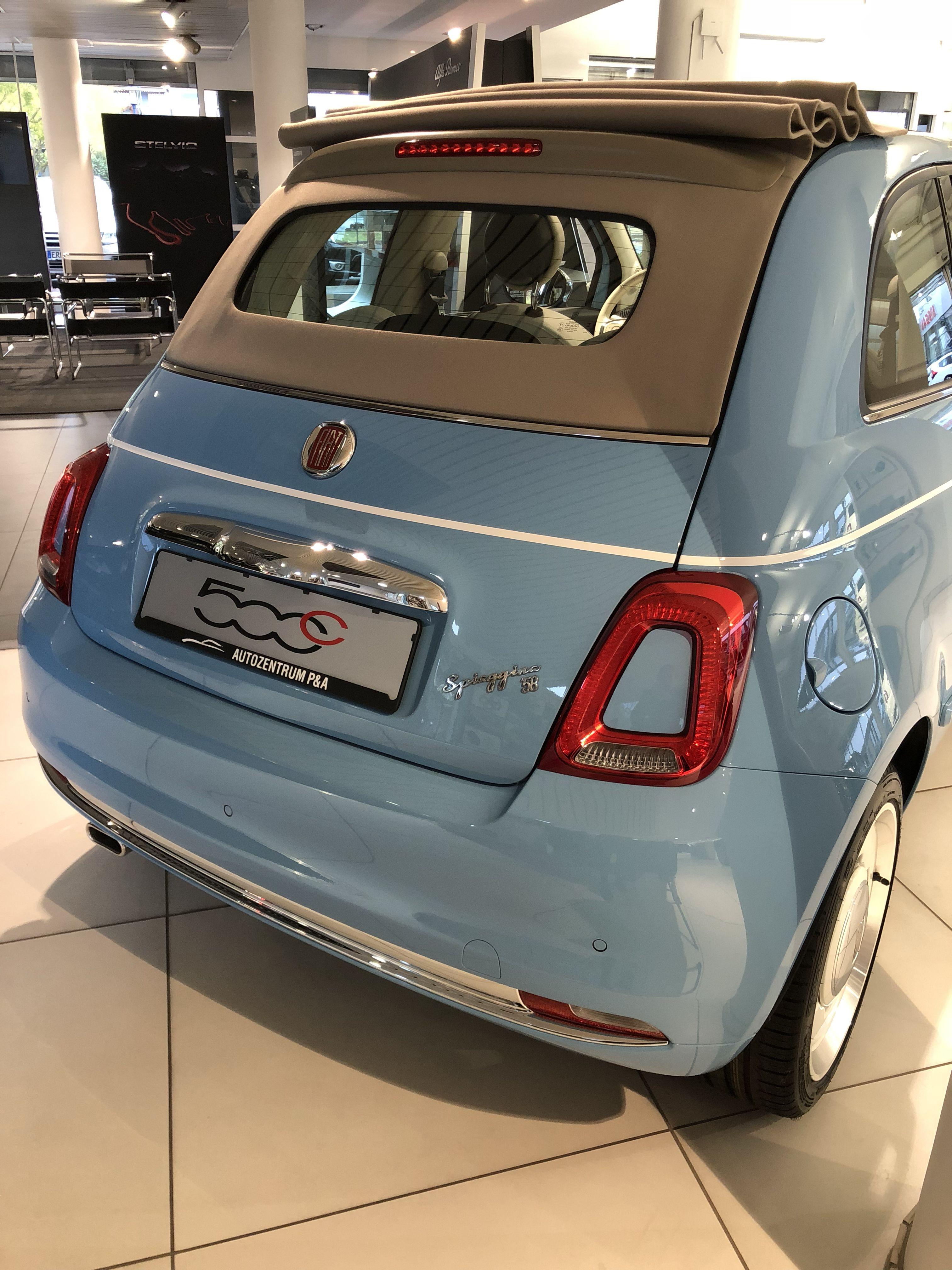 Eine Echte Zeitlose Ikone Der Exklusive Fiat 500 Spiaggina Ist