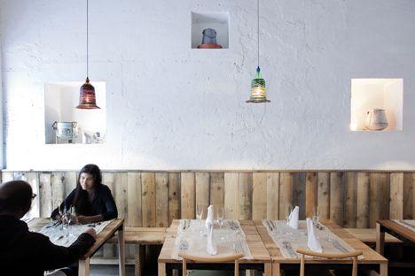 restaurante italiano en Milán · 28Posti Restaurant by Francesco Faccin