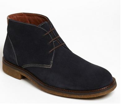 f9f182d35c8 Johnston & Murphy Navy Suede Chukka Boot | Men's Boots | Suede ...