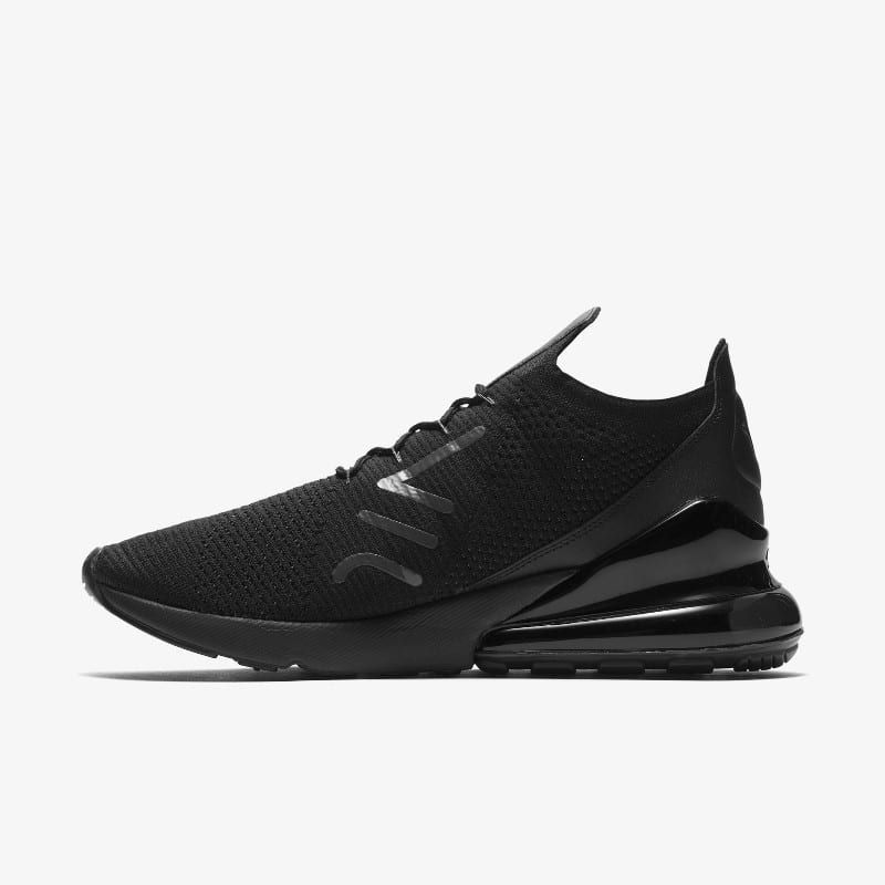 AO1023 005 Nike Air Max 270 Flyknit Triple Black grailify 4