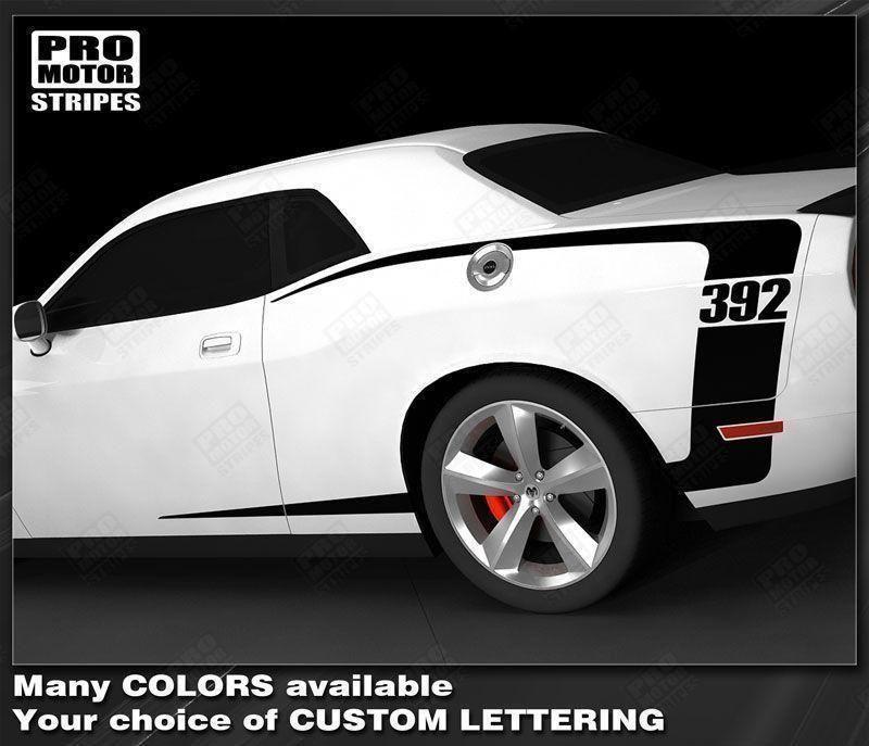 Dodge Challenger 20082019 Rear Quarter Side CStripes