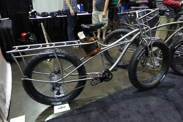 Fat cargo bike