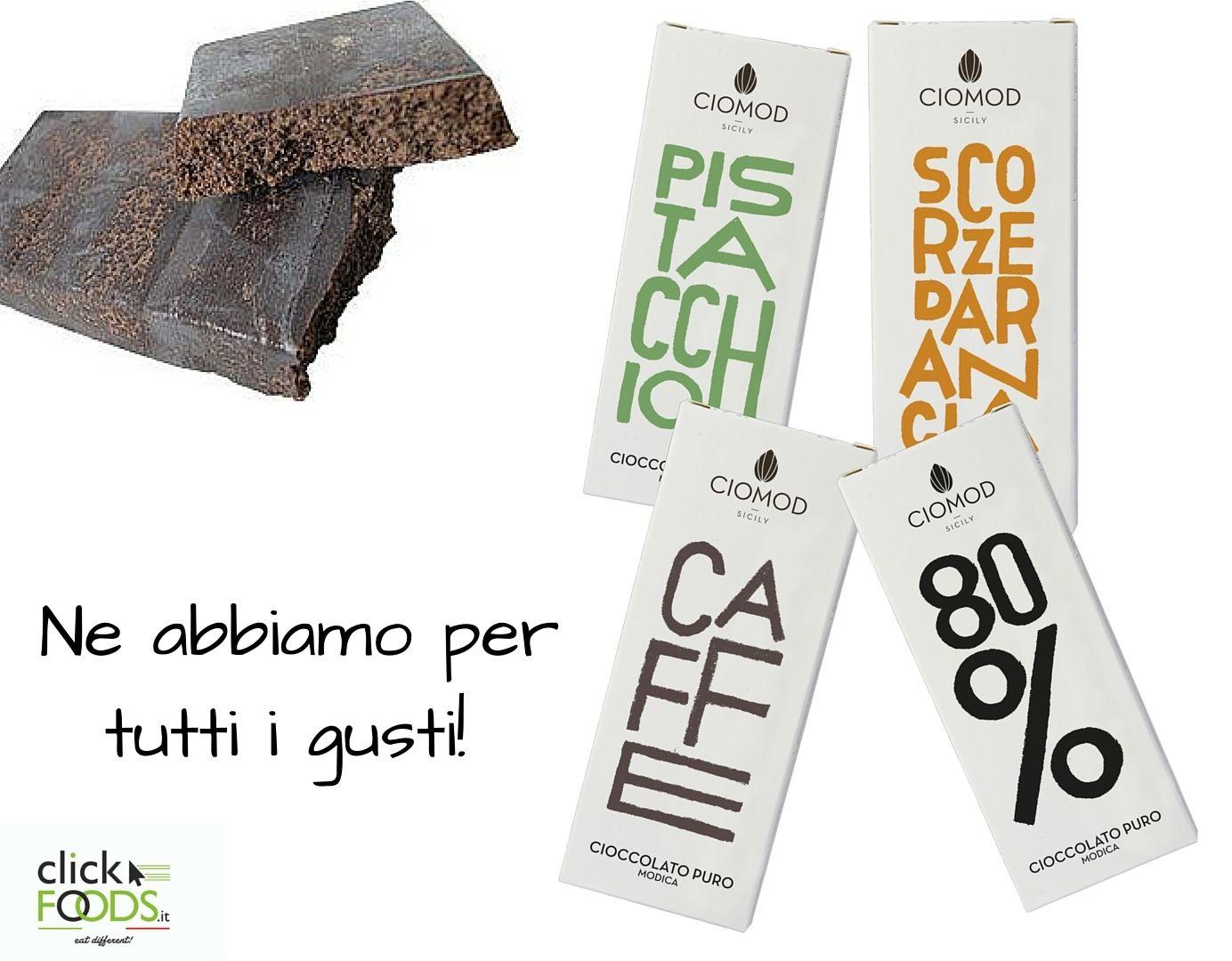 Di #Cioccolato non ne abbiamo mai abbastanza! Scopri le tante varietà su http://bit.ly/1SLCa7c  Ciomod #eatdifferent #foodporn #Cioccolato #di #Modica
