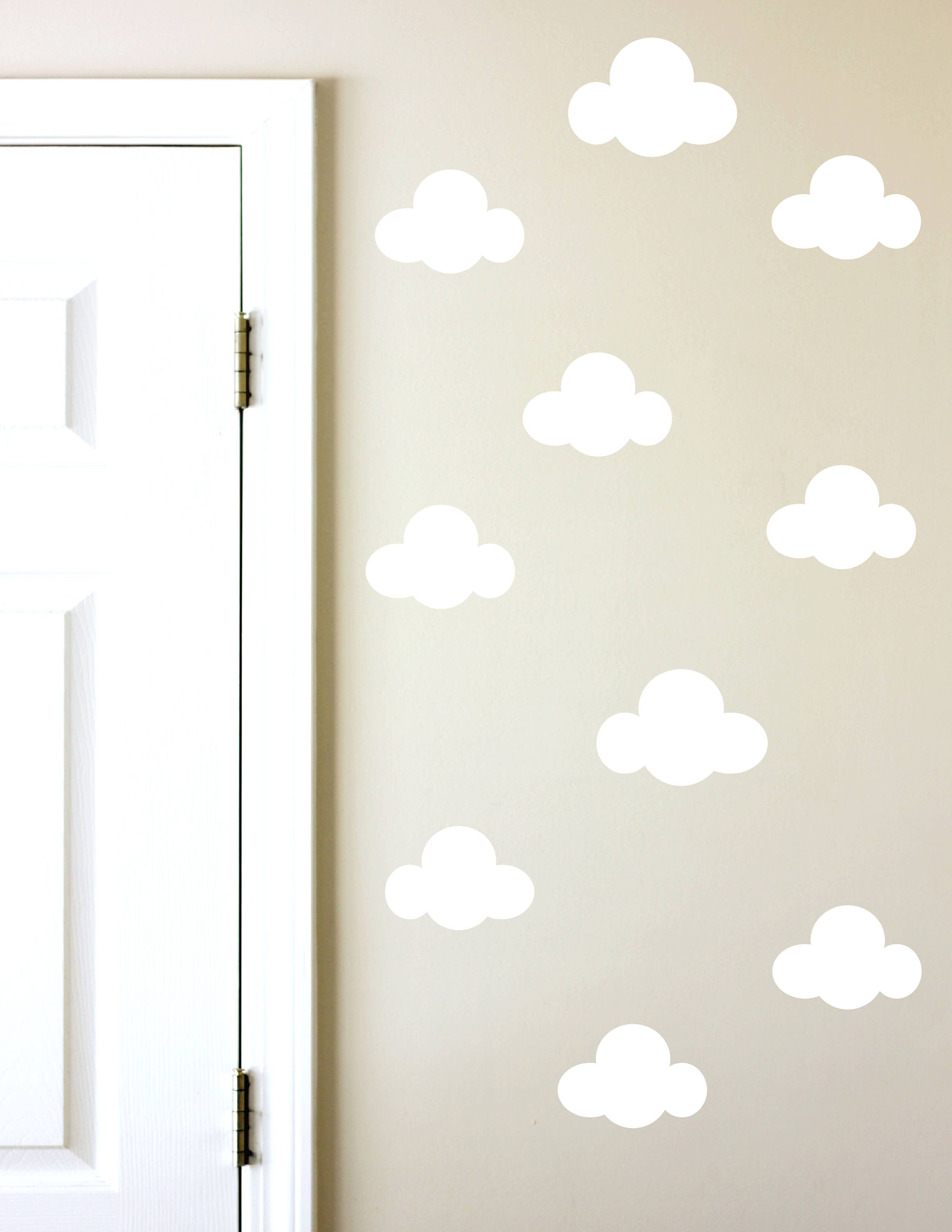 Cloud wall decals clouds kids room decals cute wall decals wall