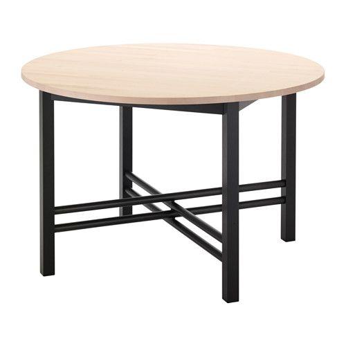 BJÖRKSNÄS Esstisch IKEA Massivholz ist ein robustes Naturmaterial ...