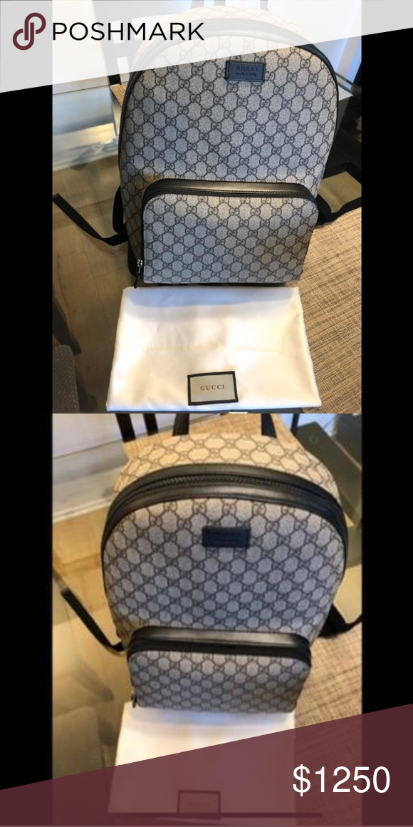 32266ee50c4 Spotted while shopping on Poshmark  GUCCI GG Supreme backpack!  poshmark   fashion