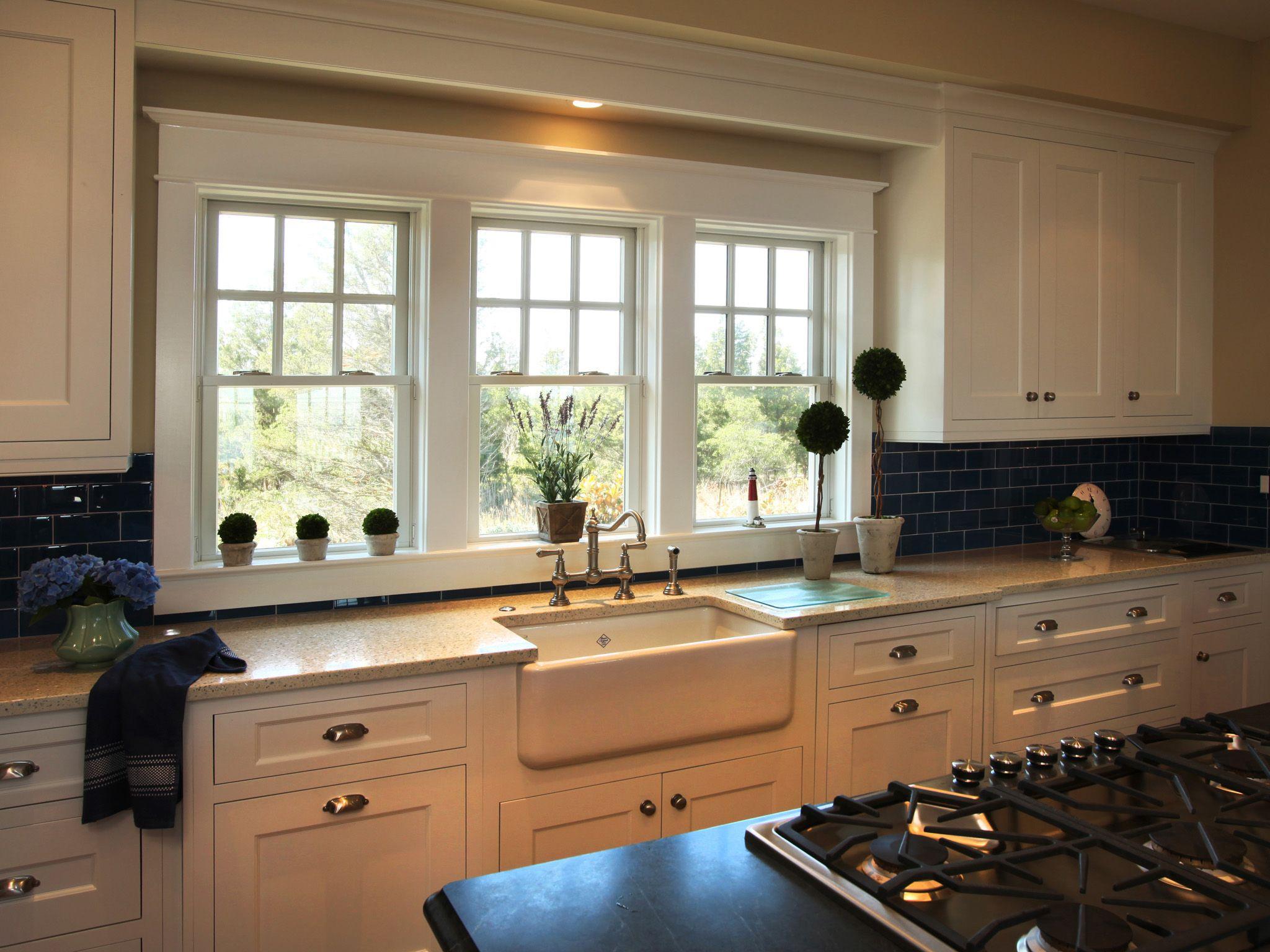 Bay Window Kitchen Window Treatments Ideas