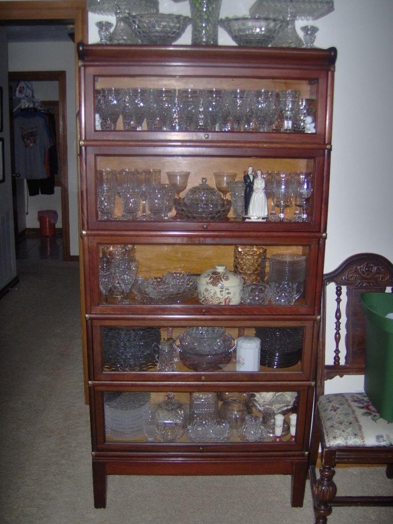 Mahogany Globe Wernicke Bookcase Grade 598 1 2 Globe
