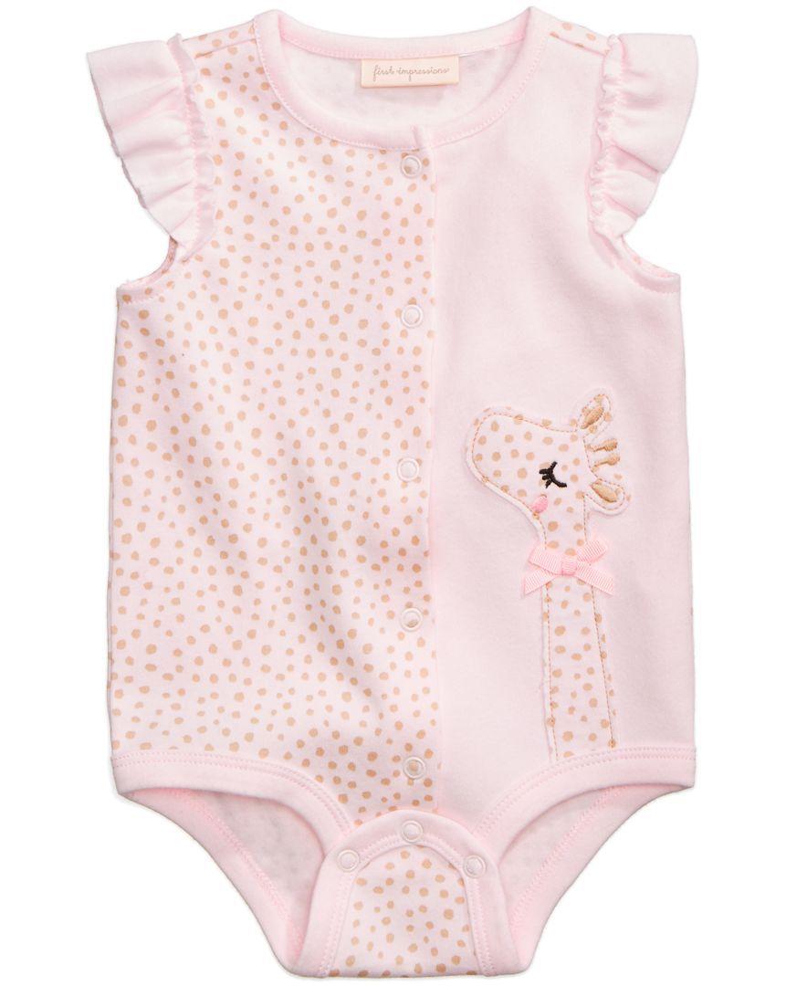 c53225f75 First Impressions Cotton Giraffe Creeper