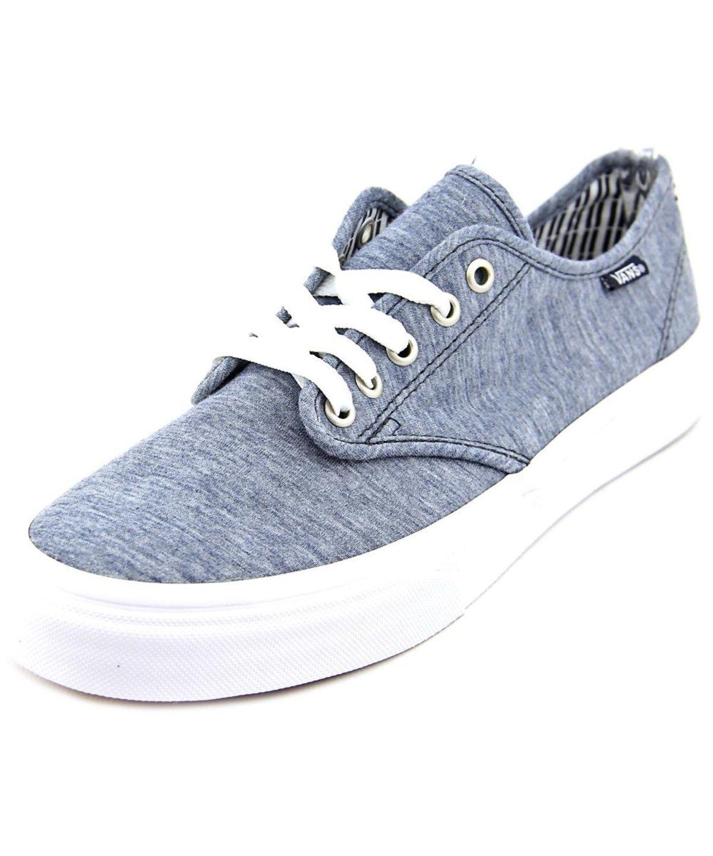 de005bd20a52a0 VANS VANS CAMDEN STRIPE WOMEN ROUND TOE CANVAS BLUE SNEAKERS .  vans  shoes   sneakers