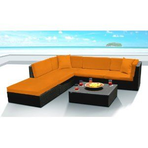 Outdoor Wicker Furniture New All Weather 9pc Patio Deep Seating Sectional Sofa Set