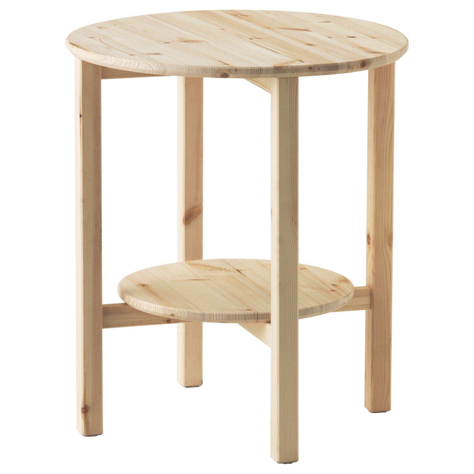 Ikea Coffee Table Material: NORNÄS, Side Table, , Untreated Solid Pine Is A