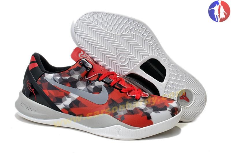 Nike Kobe 8 VIII System 555035-601 University Red Sail-Noble Red-Grey Milk  Snake For Wholesale 3d78b9243921